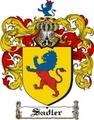Thumbnail Sadler Family Crest  Sadler Coat of Arms