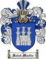 Thumbnail Saint Martin Family Crest  Saint Martin Coat of Arms