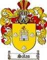 Thumbnail Salas Family Crest  Salas Coat of Arms Digital Download
