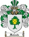 Thumbnail Salcedo Family Crest  Salcedo Coat of Arms