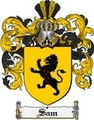 Thumbnail Sam Family Crest  Sam Coat of Arms
