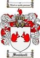 Thumbnail Samwell Family Crest  Samwell Coat of Arms