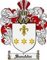Thumbnail Sandder Family Crest  Sandder Coat of Arms