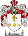 Thumbnail Sanderes Family Crest  Sanderes Coat of Arms