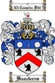 Thumbnail Sanderrs Family Crest  Sanderrs Coat of Arms