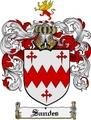Thumbnail Sandes Family Crest  Sandes Coat of Arms