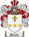 Thumbnail Sandre Family Crest  Sandre Coat of Arms