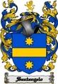 Thumbnail Santangelo Family Crest  Santangelo Coat of Arms Digital Download