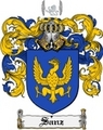 Thumbnail Sanz Family Crest  Sanz Coat of Arms