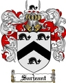 Thumbnail Sarjeant Family Crest  Sarjeant Coat of Arms