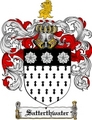 Thumbnail Satterthwater Family Crest  Satterthwater Coat of Arms