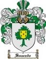 Thumbnail Saucedo Family Crest  Saucedo Coat of Arms