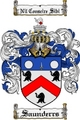Thumbnail Saunderrs Family Crest  Saunderrs Coat of Arms