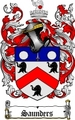 Thumbnail Saunders Family Crest / Saunders Coat of Arms