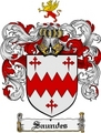 Thumbnail Saundes Family Crest  Saundes Coat of Arms