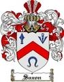 Thumbnail Saxon Family Crest  Saxon Coat of Arms