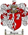 Thumbnail Sayres Family Crest  Sayres Coat of Arms