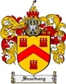 Thumbnail Scarburg Family Crest  Scarburg Coat of Arms