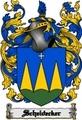 Thumbnail Scheidecker Family Crest  Scheidecker Coat of Arms Digital Download