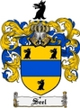 Thumbnail Seel Family Crest  Seel Coat of Arms