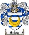 Thumbnail Semon Family Crest  Semon Coat of Arms
