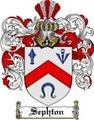 Thumbnail Sephton Family Crest  Sephton Coat of Arms