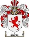 Thumbnail Serna Family Crest  Serna Coat of Arms