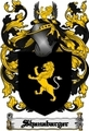 Thumbnail Shanabarger Family Crest  Shanabarger Coat of Arms Digital Download