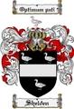 Thumbnail Shelden Family Crest  Shelden Coat of Arms