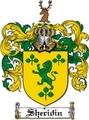 Thumbnail Sheridin Family Crest  Sheridin Coat of Arms