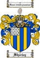 Thumbnail Sherley Family Crest  Sherley Coat of Arms