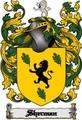 Thumbnail Sherman Family Crest  Sherman Coat of Arms Digital Download