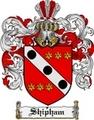 Thumbnail Shipham Family Crest  Shipham Coat of Arms