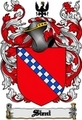 Thumbnail Sieni Family Crest  Sieni Coat of Arms Digital Download