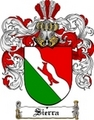 Thumbnail Sierra Family Crest  Sierra Coat of Arms