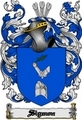 Thumbnail Sigmon Family Crest  Sigmon Coat of Arms Digital Download