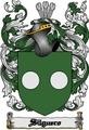 Thumbnail Silguero Family Crest  Silguero Coat of Arms Digital Download