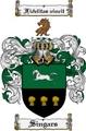 Thumbnail Singars Family Crest  Singars Coat of Arms