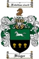 Thumbnail Singer Family Crest  Singer Coat of Arms