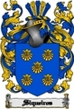 Thumbnail Siqueiros Family Crest  Siqueiros Coat of Arms Digital Download