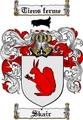 Thumbnail Skair Family Crest  Skair Coat of Arms