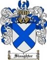 Thumbnail Slaughter Family Crest  Slaughter Coat of Arms