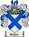 Thumbnail Slighter Family Crest  Slighter Coat of Arms