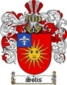 Thumbnail Solis Family Crest  Solis Coat of Arms