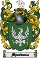 Thumbnail Sparkman Family Crest  Sparkman Coat of Arms Digital Download