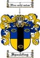 Thumbnail Spaulding Family Crest  Spaulding Coat of Arms