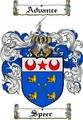 Thumbnail Speer Family Crest  Speer Coat of Arms