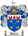 Thumbnail Speirs Family Crest  Speirs Coat of Arms