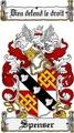 Thumbnail Spenser Family Crest  Spenser Coat of Arms
