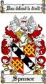 Thumbnail Spensor Family Crest  Spensor Coat of Arms
